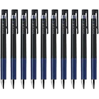 パイロットJuice Up 03格納式Gelインクペン, Hyper Fine Point 0.3MM、ブルーブラックインク、値のセット10