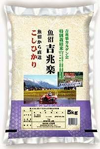 【精米】新潟県魚沼産 白米 カルゲン魚沼吉兆楽(こしひかり) 5kg平成29年産
