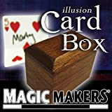 The Illusion Card Box - Make a Signed Card Magically Appear Inside the Box by Magic Makers by Magic Makers