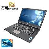 【Microsoft Office 2010搭載】【Win 7搭載】NEC VY22G/X-A/新世代Core i3 2.26GHz/メモリ2GB/HDD160GB/バッテリー充電不可/DVDドライブ/大画面15.6インチ/無線LAN搭載/中古ノートパソコン