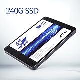 Dogfish SSD 240GB SATA3 III 2.5 Inch 内蔵SSD 7MM Height MLC TLC ノートブック PC Hard Drive 240 GB (240GB)