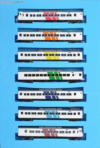 Nゲージ A4165 国鉄185系試案塗装レインボーカラー編成7両