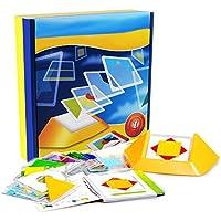 Per子透明パターンパズルブロックノベルティ教育pre-kindergarten Toys to trainスペースThinking for Kids toddlers-18pcs