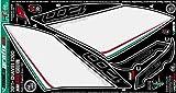 MOTOGRAFIX(モトグラフィックス) ボディーパッド DUCATI DIAVEL1200(11-) REAR ホワイト/ブラック MT-RD012U