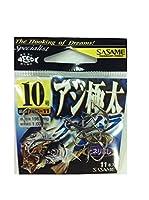 ささめ針(SASAME) AG-11 アジ極太ケイムラカラー フック 10 釣り針