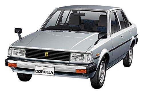 1/24 ザ モデルカー No.71 トヨタ E70 カローラセダン GT/DX  81 55243  アオシマ  ABK 55243 トヨタ E70 カローラセダン GT/DX 81  B