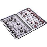 SM SunniMix 象棋 マグネット式 中国将棋 チェスボード チェスピース チェスセット 全2選択 - 01