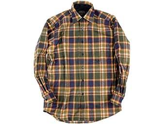 (ペンドルトン)PENDLETON 長袖ウールシャツ クラッシックロッジシャツ バッドランズ S