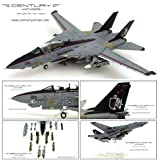 センチュリーウイングス F-14A トムキャット VF-154 ブラックナイツ ミレニアムナイツ 2000仕様 1/72 587908