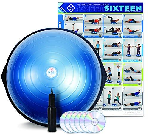 BOSU(ボス) バランストレーナー ホームバージョン 65cm DVD付き 72-10850-2XPQ ブルー
