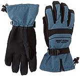 (フォレストガード)FOREST GUARD(フォレストガード) スキー スノーグローブ バイク 自転車 防寒手袋 防水 BEC-TEX シンサレート 5本指 FG-213 ネイビー L