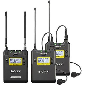SONY URX-P03D + UTX-B03 2台 ワイヤレスマイクロホンパッケージ