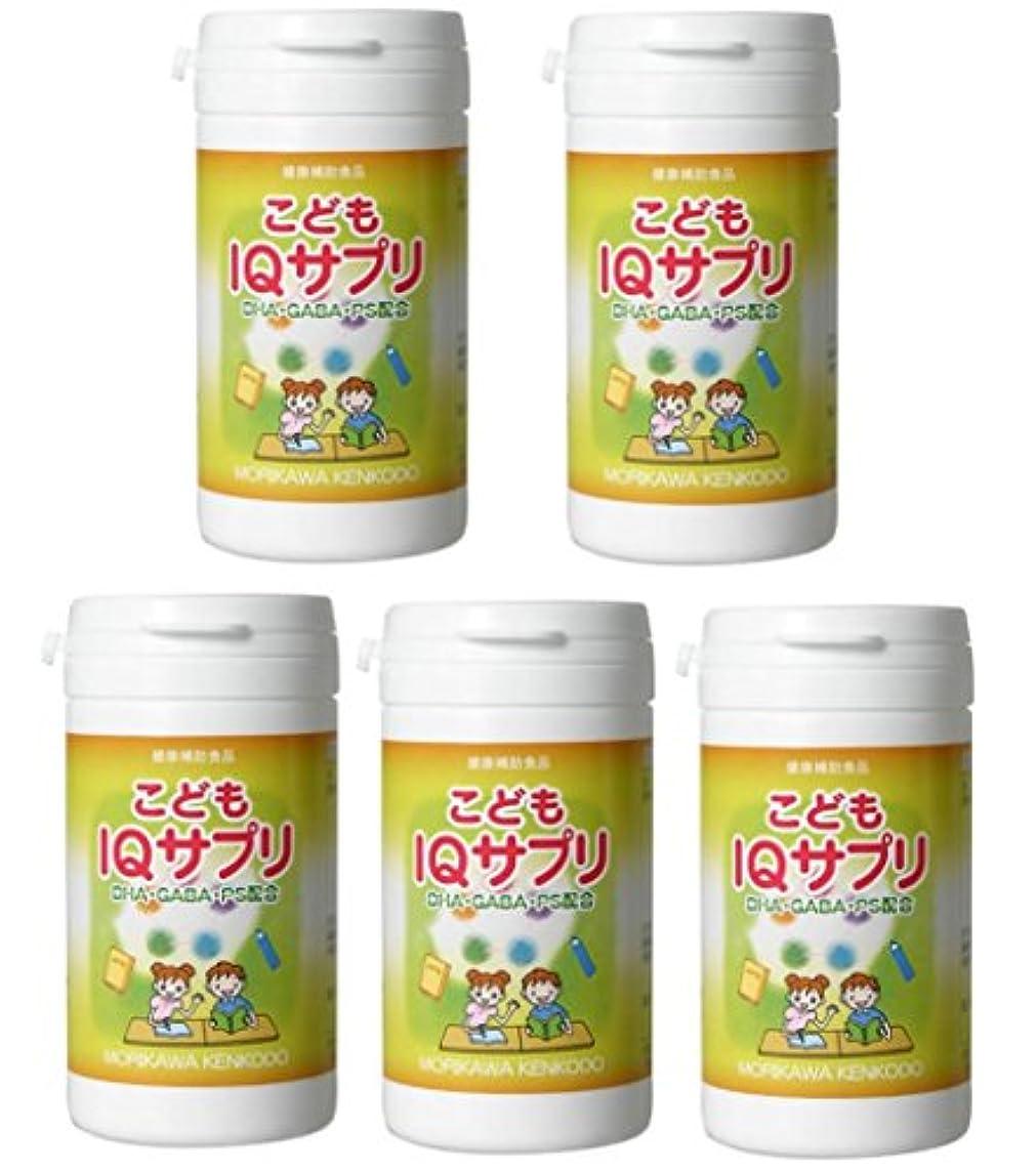 【X5個セット】 森川健康堂 こどもIQサプリ 90粒