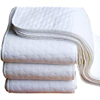 FEITONG新しい10個ベビー綿洗濯可能再利用可能なソフト布おむつ挿入