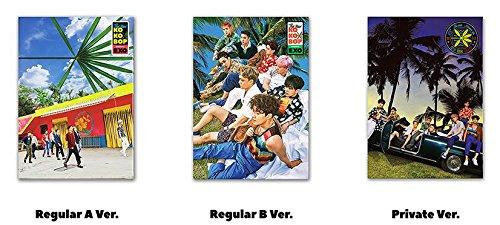 3枚セット【早期購入特典あり 韓国語 A & B & Private Ver.】 EXO THE WAR 正規 4集 ( 韓国盤 )(初回限定特典6点)(韓メディアSHOP限定)
