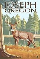Joseph , Oregon–ホワイトテール鹿 24 x 36 Giclee Print LANT-20182-24x36