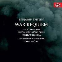 ブリテン : 戦争レクイエム | 春の交響曲 他 (Benjamin Britten : War Requiem | Spring Symphony | The Young Person's Guide to The Orchestra / Czech Philharmonic Orchestra , Karel Ancerl) (2CD) [輸入盤]