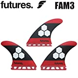 FUTURE FINS 【フューチャーフィン】 ALMERRIC 3 【FAM3】 C.Iロゴ入り [Red Black] TRI トライフィン