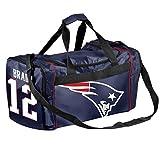 New England Patriots Tom Brady # 12コアダッフルバッグ