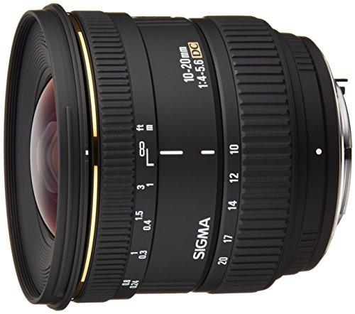 SIGMA 超広角ズームレンズ 10-20mm F4-5.6 EX DC ペンタックス用 APS-C専用 201609