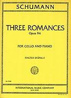 SCHUMANN - Romanzas Op.94 para Violoncello y Piano (Despalj)