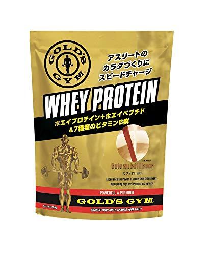 ゴールドジム(GOLD'S GYM) ホエイプロテイン カフェオレ風味 1,500g