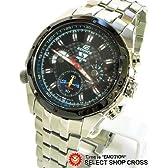 CASIO カシオ EDIFICE エディフィス 腕時計 (F1 セバスチャン.ベッテル エディション) 海外モデル EF-535SVSP-1V ブラック 逆輸入品