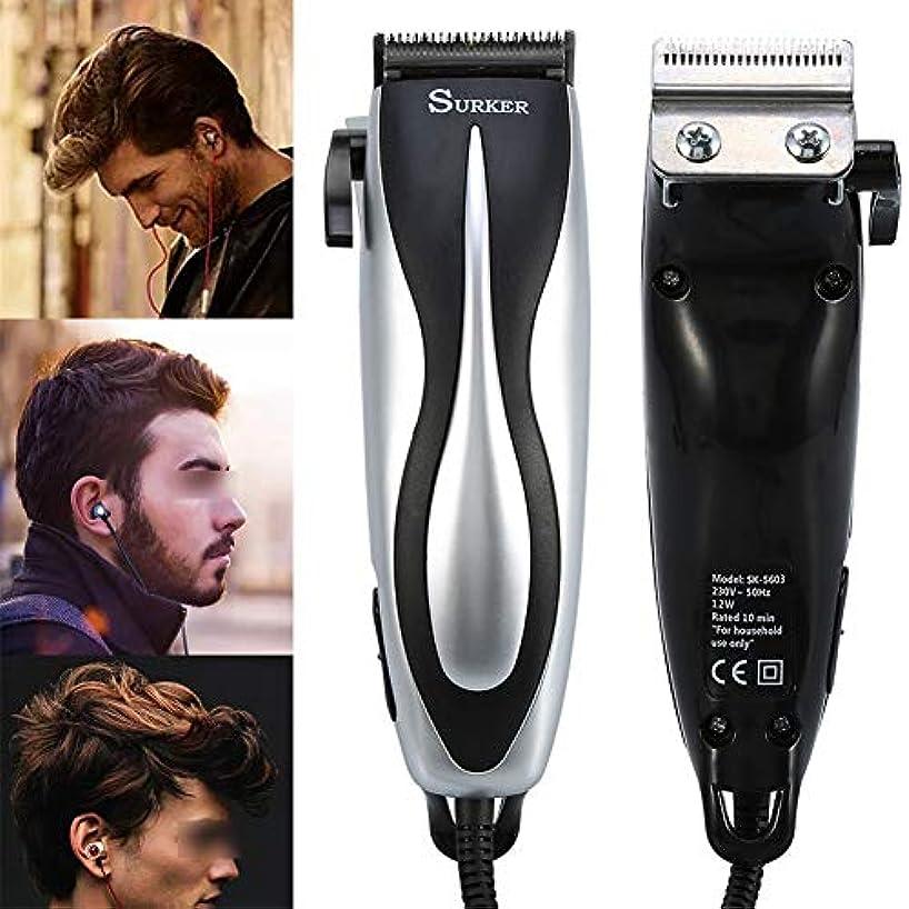 逸話どのくらいの頻度でグリーンバックバリカンひげ充電式防水電気ヘアトリマーシェーバーボディ髪口ひげを剃るトリマー散髪用男性と子供