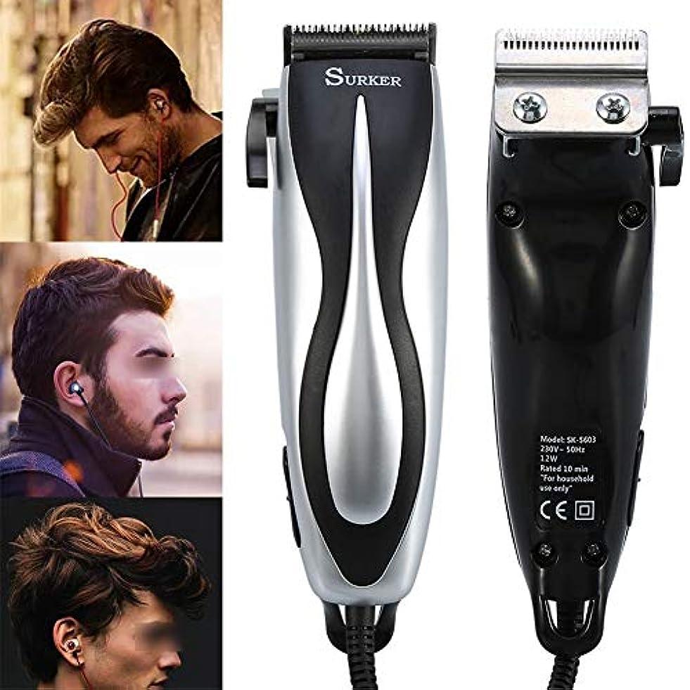 短くする意図する予言するバリカンひげ充電式防水電気ヘアトリマーシェーバーボディ髪口ひげを剃るトリマー散髪用男性と子供
