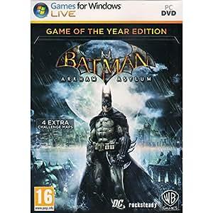 Batman: Arkham Asylum - Game Of The Year Edition (PC) (輸入版)