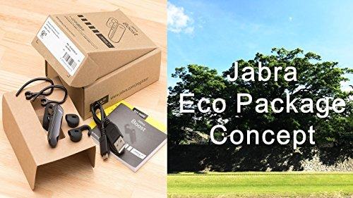 世界屈指の補聴機器グループ JABRA BOOST BLACK ECO Package 一年保証 ワイヤレス Bluetooth ヘッドセット 片耳 イヤフォン マイク付【日本正規代理店】
