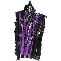 Lovoski ハロウィーン飾り おばけ 飾り お祭り パーティー用 全3色 - 紫, 38 x 63cm