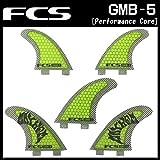 FCS フィン GMB-5 Tri-Quad 5FIN マットバイオロス[メイヘム シグネチャーモデル]