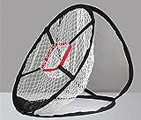 【 初心者 から 上級者 まで使える 】 ゴルフ スイング 練習器具 ピッチング ネット 簡単 設置 アプローチ の 練習に 最適 【 コンパクトサイズ 】