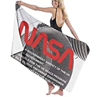NASA宇宙機関,宇宙飛行士 ビーチタオル スーパーソフトスイムタオル マイクロファイバー バスタオル 130x80CM 旅行 超吸水 防砂 大判 大きい 軽量 コンパクト ヘアタオル 速乾 プール 海水浴 旅行用タオル 持ち運び ビーチブランケット ビーチマットJinHongDM