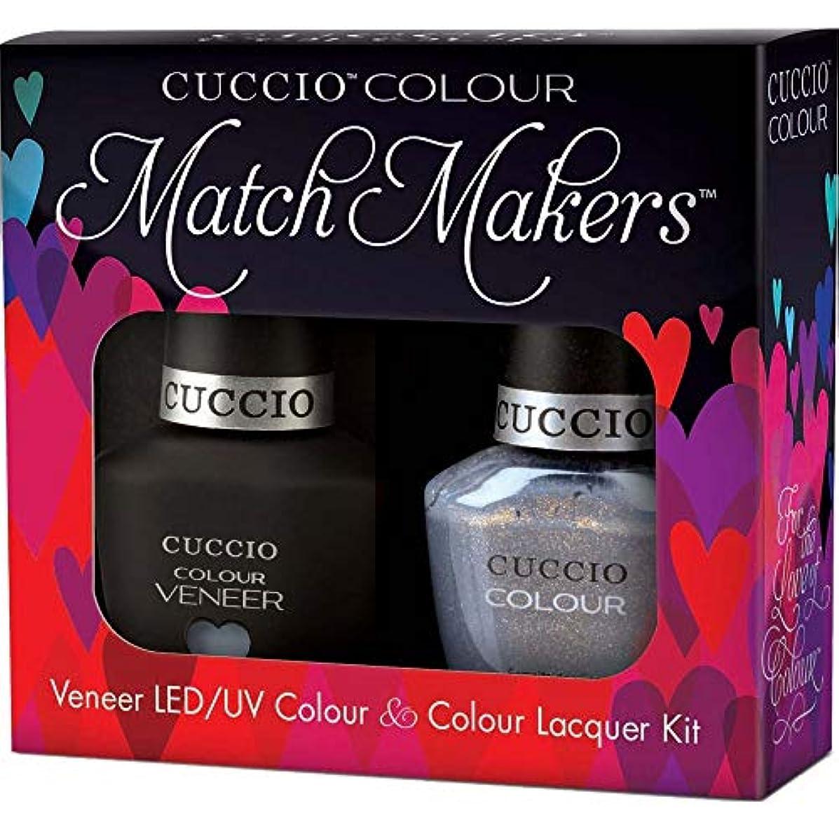 とても密隠すCuccio MatchMakers Veneer & Lacquer - Grey's Anatomy - 0.43oz / 13ml Each