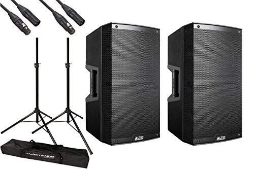 [해외]ALTO Professional 알토 전문   TS210 액티브 스피커 스탠드 및 케이블 세트!/ALTO Professional Alto Professional   TS 210 Active Speaker Stand & Cable Set!