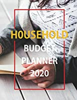 Household Budget Planner 2020: Financial Planner Organizer budget book 2020, Yearly Monthly Weekly & Daily Budget Planner, Setup Expected Actual and Difference for Income, Housing, Monthly Living Expenses, Long-Term Expenses and investments Month Summary