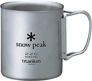 スノーピーク(snow peak) チタンダブルマグ