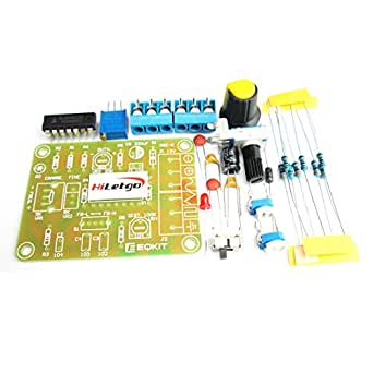 HiLetgo ICL8038 関数 機能信号発生器モジュール DIYキット 正弦波 三角波(2個セット) [並行輸入品]