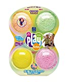 Educational Insights Playfoam - Sparkle 4-Pack 【知育玩具 つぶつぶ粘土遊び】 プレイフォーム スパークル きらきら(4個入り) 正規品