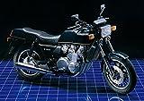絵画風 壁紙ポスター (はがせるシール式) カワサキ Z1300 水冷6気筒 1978年 名車 バイク キャラクロ KZ13-002A1 (A1版 585mm×830mm) 建築用壁紙+耐候性塗料