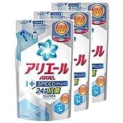 【まとめ買い】 アリエール 洗濯洗剤 液体 スピードプラス 詰め替え 320g×3個