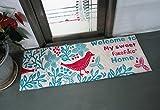 ラグマット カーペット すべり止め おしゃれ フランネルマット かわいい 北欧 長方形 絨毯 床暖房対応 45×115㎝ リビングルーム 玄関口 玄関マット 屋内 生活雑貨 室内インテリア