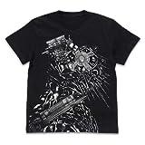 ドロヘドロ カイマン オールプリントTシャツ/BLACK-S