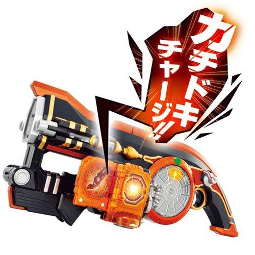 光る!!鳴る!! スクラッチ装填 DX 火縄大橙DJ銃&DX カチドキロックシード 2種セット 【仮面ライダー鎧武】