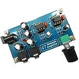 Lovoski オーディオ用 クラシック 47 ポータブル  ヘッドフォンアンプ  ボードモジュール キット 電圧:DC 12-18 V