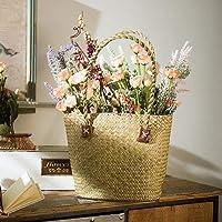 花かご 花バスケット 籐バスケット 籐鉢(17060109)