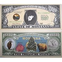 Set of 5 Bills-Montana State Bill by Novelties Wholesale [並行輸入品]