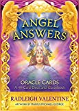 Angel Answers Oracle Cards: A 44-Card Deck and Guidebook 画像